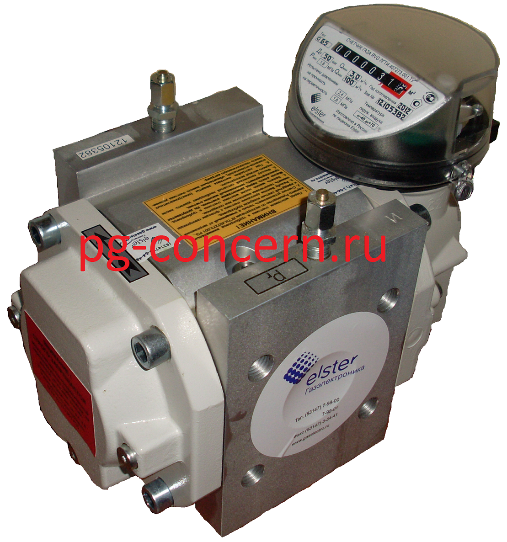 Счетчики газа ротационные RVG G400