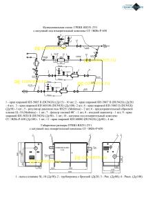ГРПШ-RS251-2У1 c СГ-ЭКВз-Р-650 функциональная схема для сайта