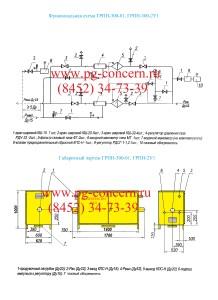 ГРПН-300-01, Функциональная схема ГРПН-300-01, ГРПН-300-2У1, купить, цена