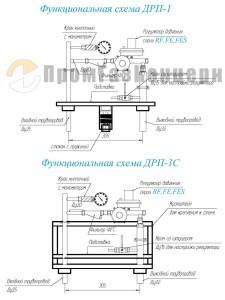 Функциональная схема ДРП-1, дрп-1сп цена, купить, схема дрп скачать